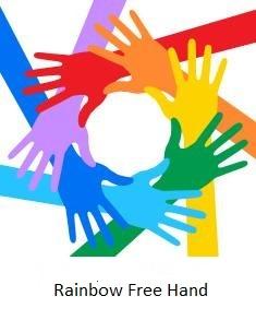 Rainbow Free Hand