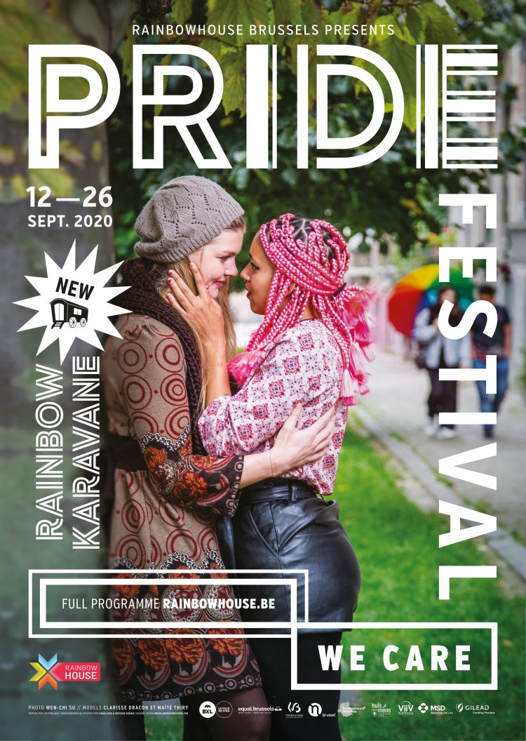 PrideFestival Brussels: the program is out!