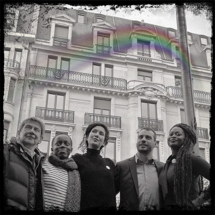 @ Réception au Parlement bruxellois à l'occasion de la Belgian Pride